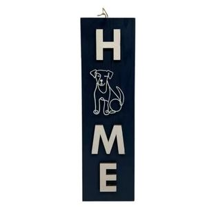 🐕🏠 NWT‼️place & time brand Rustic H🐕ME Wall Art